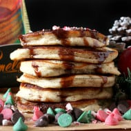 Gluten-free Peppermint Pancakes by Nutmeg Nanny