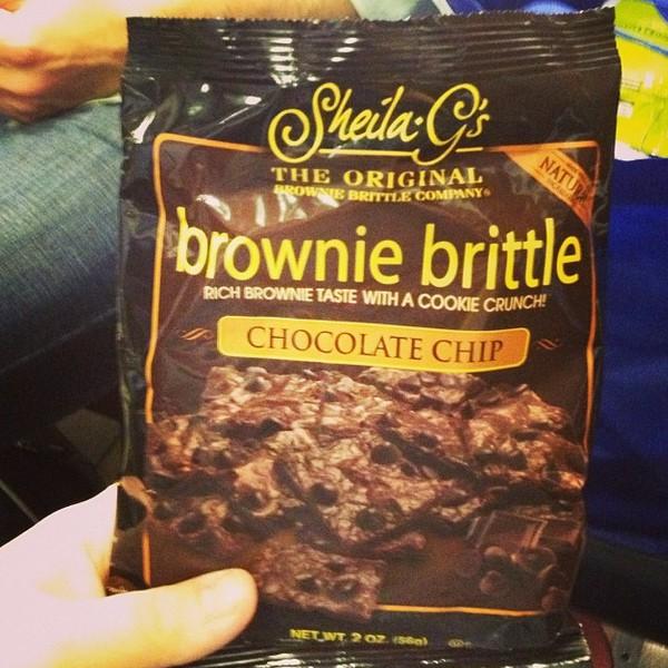 Brownie Brittle via Nutmeg Nanny