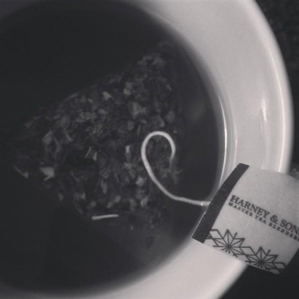 Harney and sons tea via Nutmeg Nanny