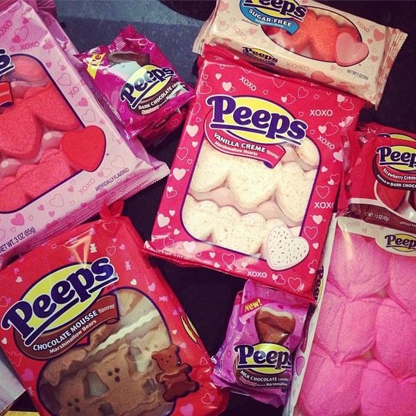 Valentines Day Peeps via Nutmeg Nanny