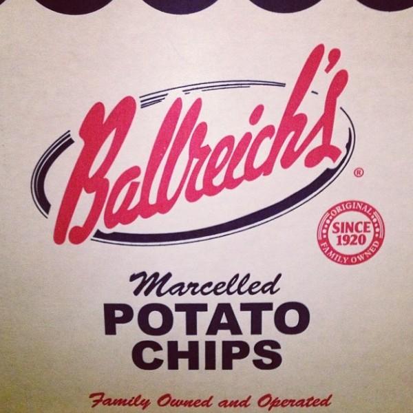Ballreich's Potato Chips via Nutmeg Nanny
