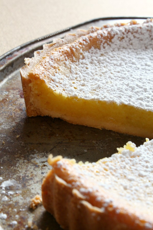 This sweet and tart whole Meyer lemon tart is the perfect addition to your dessert table. Slightly sweet and full of lemon flavor it's sure to impress.