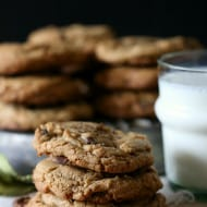 Espresso Salted Chocolate Chip Cookies by Nutmeg Nanny