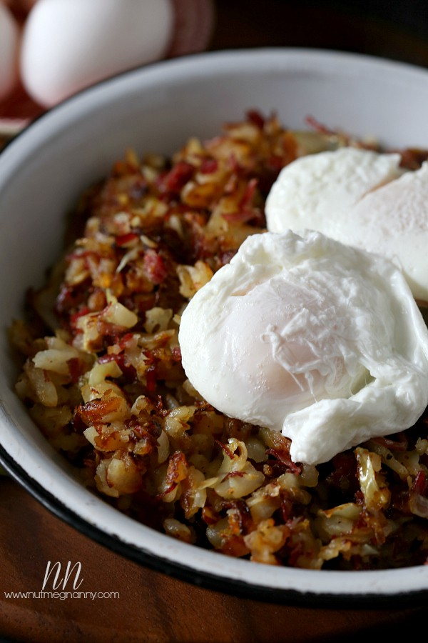 Corned Beef, Cabbage and Potato Hash by Nutmeg Nanny