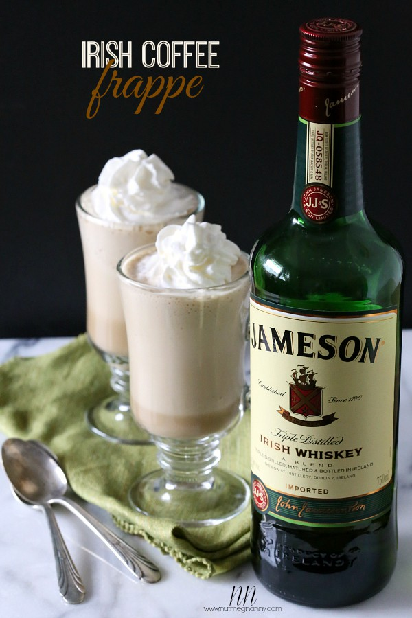 Irish Coffee Frappe by Nutmeg Nanny