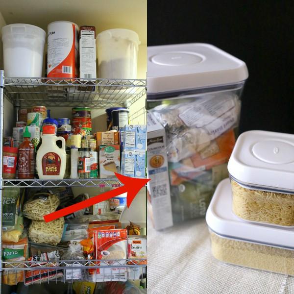 Pantry Organization via Nutmeg Nanny
