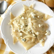 Pear Gorgonzola Easy Ravioli by Nutmeg Nanny