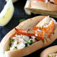 Connecticut Style Hot Buttered Lobster Roll Recipe by Nutmeg Nanny