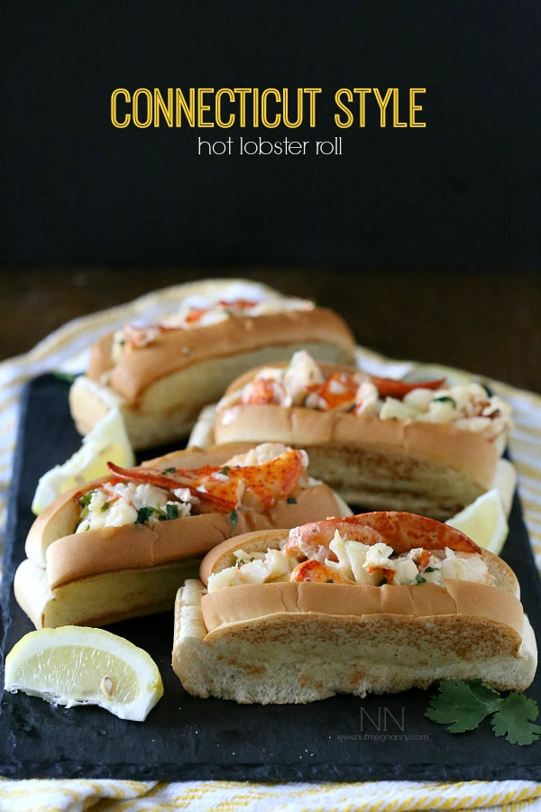 Lobster Roll Recipe by Nutmeg Nanny