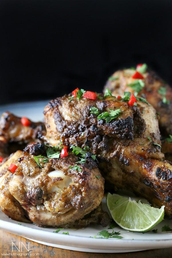Jamaican Jerk Chicken by Nutmeg Nanny
