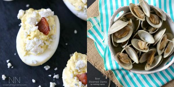 Father's Day Appetizer Recipes by Nutmeg Nanny