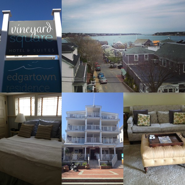 Vineyard Square Hotel in Martha's Vineyard via Nutmeg Nanny