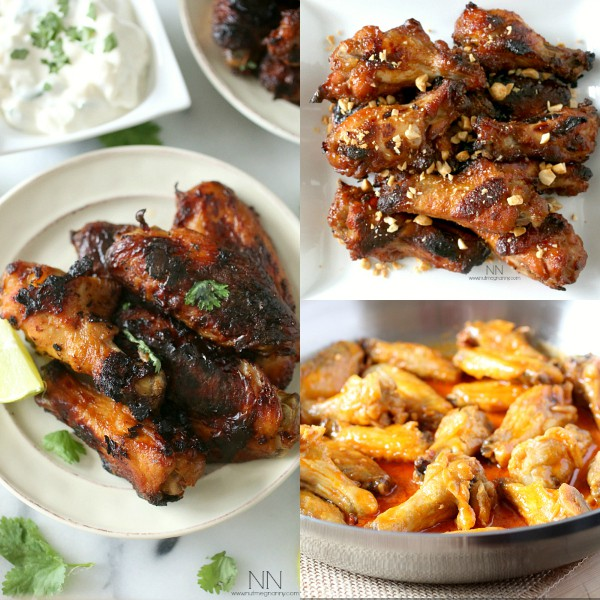 Father's Day Chicken Wing Recipes by Nutmeg Nanny