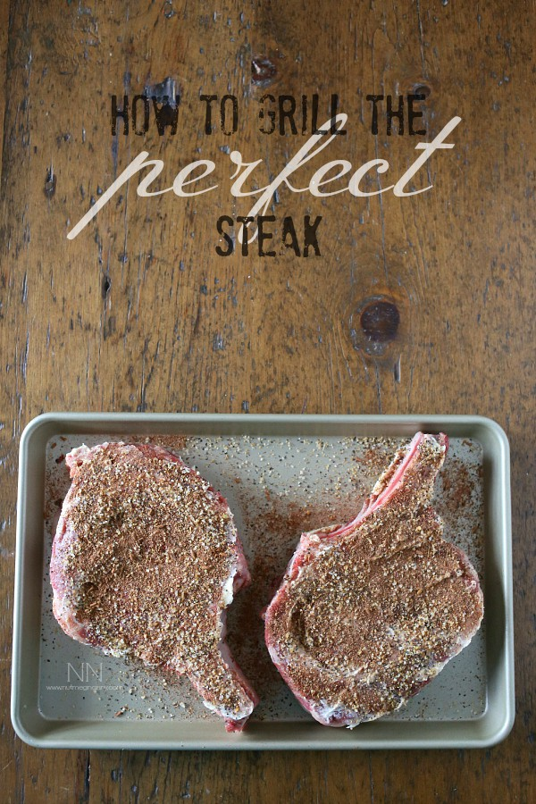 Have you always wondered how to grill the perfect steak? I got you covered! From the delicious butter and herb rub to the perfectly cooked inside. Hello summer!