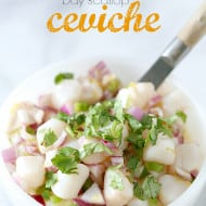 Bay Scallop Ceviche by Nutmeg Nanny