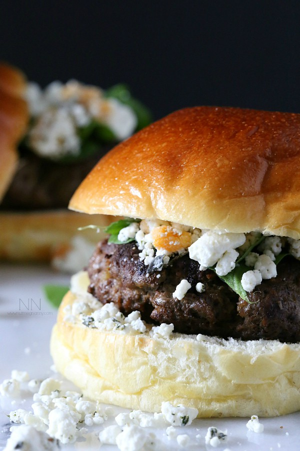 Spiced Lamb Burger by Nutmeg Nanny