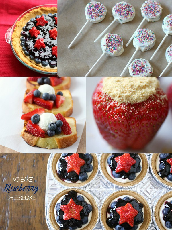 Fourth of July Dessert Recipes by Nutmeg Nanny