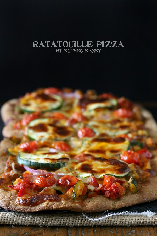 Ratatouille Pizza by Nutmeg Nanny