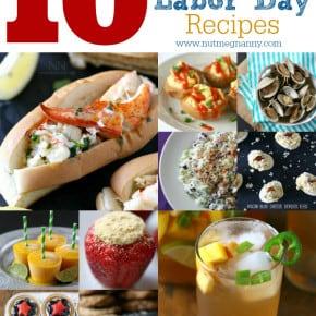 10 Last Minute Labor Day Recipes by Nutmeg Nanny