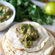 Pork Chile Verde by Nutmeg Nanny