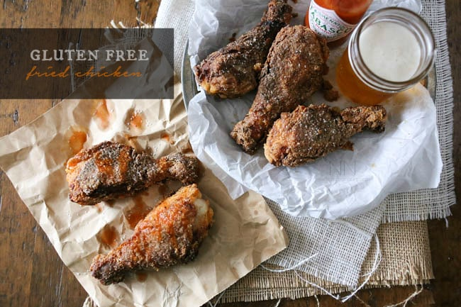 Gluten Free Spicy Fried Chicken by Nutmeg Nanny