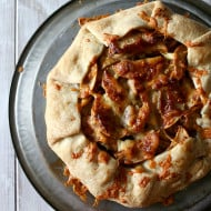 Apple Cheddar Galette by Nutmeg Nanny