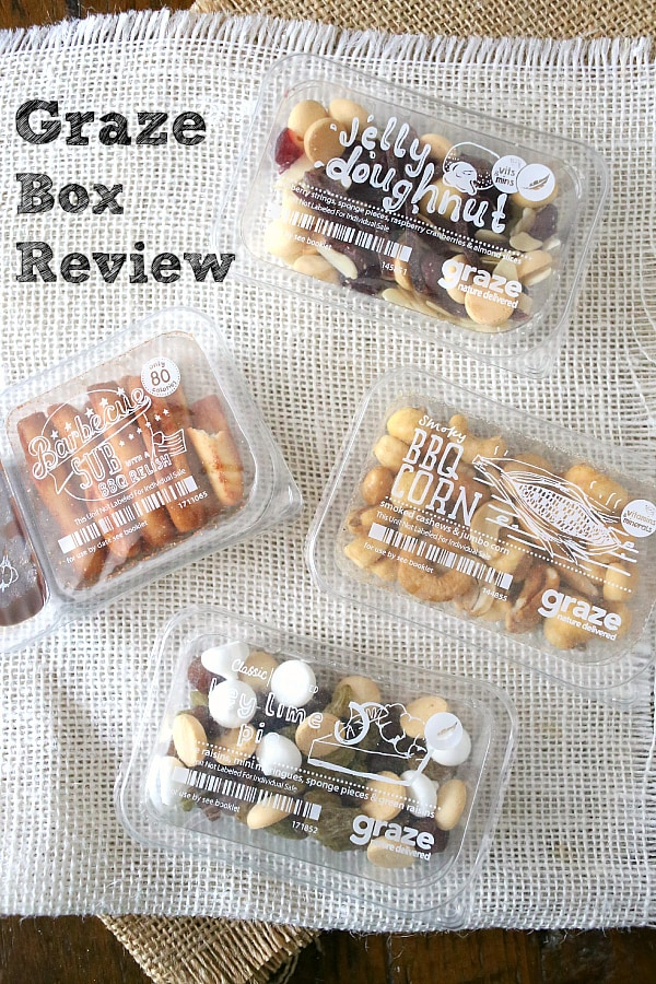Graze Box Review by Nutmeg Nanny