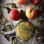 Herbed Applesauce by Nutmeg Nanny