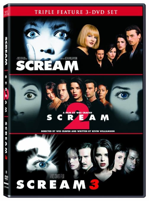Product Love - Scream Movie Trilogy