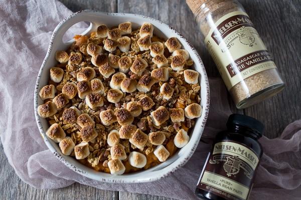 Vanilla Sweet Potato Casserole LR-1