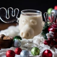 This aged eggnog is perfect for the winter holiday season. Full of booze and can be aged for years! Just wait till you take the first delicious sip!