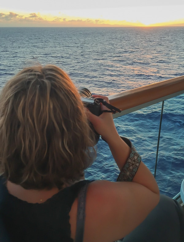 5 reasons I love cruising - the view!