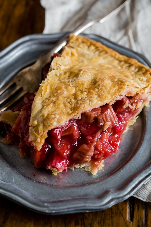Strawberry Rhubarb Pie Pictures