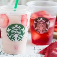 This homemade Starbucks pink drink gives you all the flavor of the store bought drink without all the cost of a store bought drink. Plus you can customize how much sweetness you desire. You'll love how fresh this drink tastes!