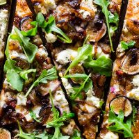 Fig Caramelized Onion Pizza