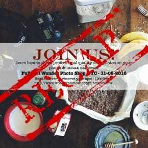 Food Photography Class Recap Fujifilm Wonder Photo Shop NYC