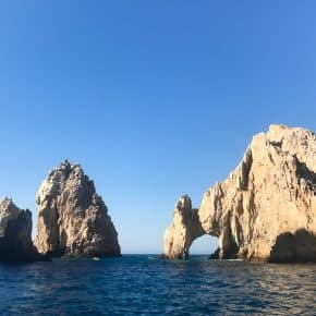 What's the best way to spend a day in Cabo San Lucas, Mexico? How about rolling in on a beautiful Princess Cruise Ship, going sailing on a luxury yacht, eating delicious food and swimming in crystal clear water. How is that for a luxury day in Cabo?