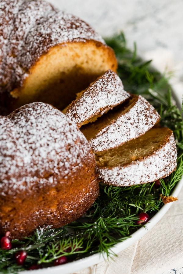 Sherry Nutmeg Bundt Cake