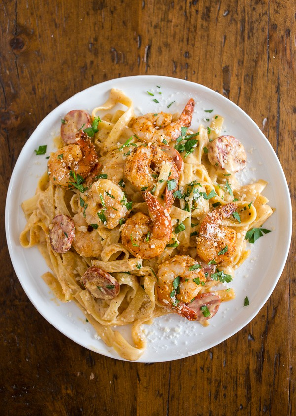 Shrimp Fettuccine Alfredo Recipe Food Network