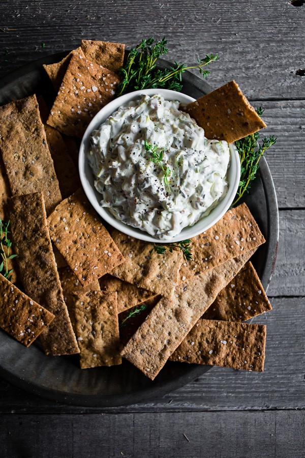 This charred triple onion dip is made with roasted leeks, green onions and scallions. Ready in under 30 minutes and perfect when served with crunchy crackers. You'll love the flavor you get out of this delicious dish!