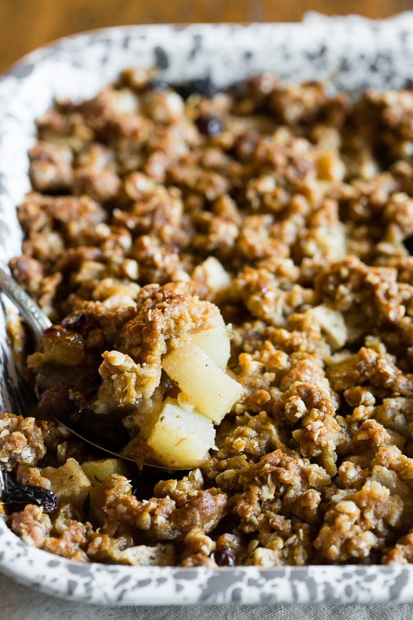 Rosemary Asian Pear Crisp Nutmeg Nanny