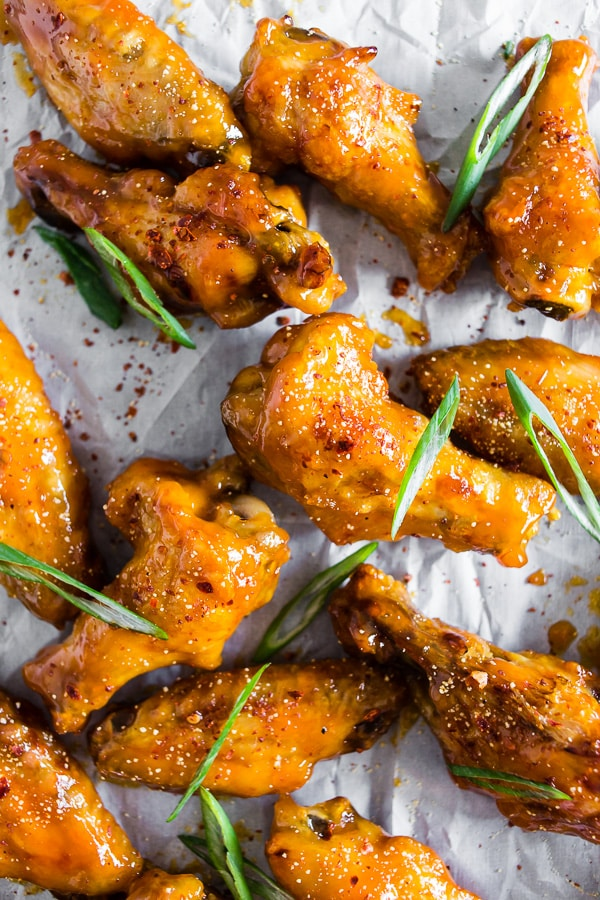 Pineapple Mango Habanero Chicken Wings
