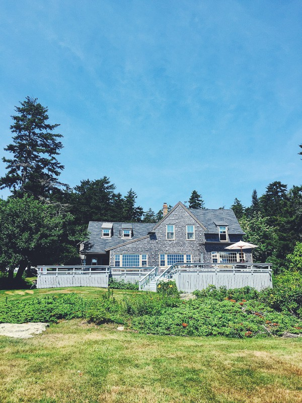 Summer Maine Travel Guide - Orr's Island Ferris Lodge