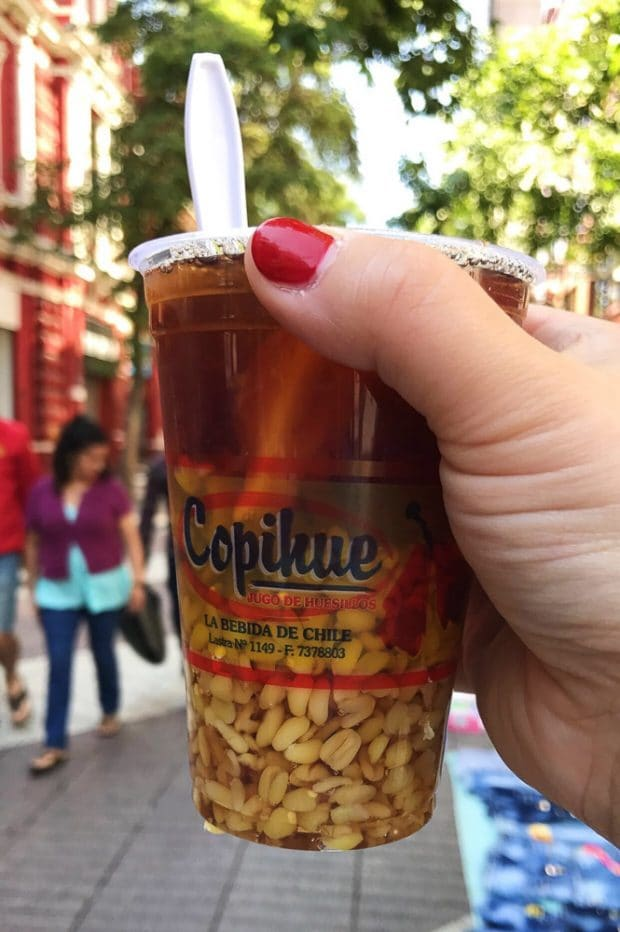 If you're in Santiago you must take time out of your trip to go on a Santiago Chile Food Walking Tour with FoodyChile. It's a fun day full of food, walking and seeing the best of Santiago. You'll love this foodie tour of Santiago!