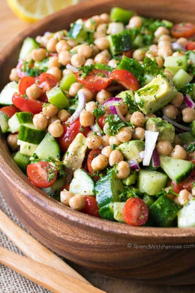 Chickpea Salad - 20 Perfect Summer Salads