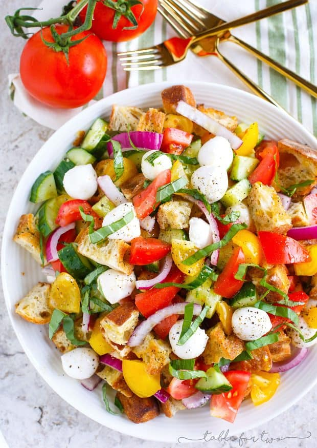 Summer Panzanella - 20 Perfect Summer Salads