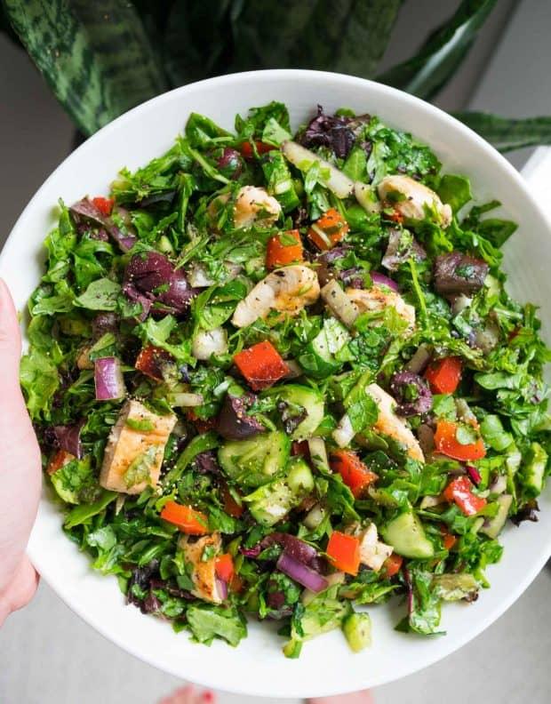 Quick Chopped Salad - 20 Perfect Summer Salads