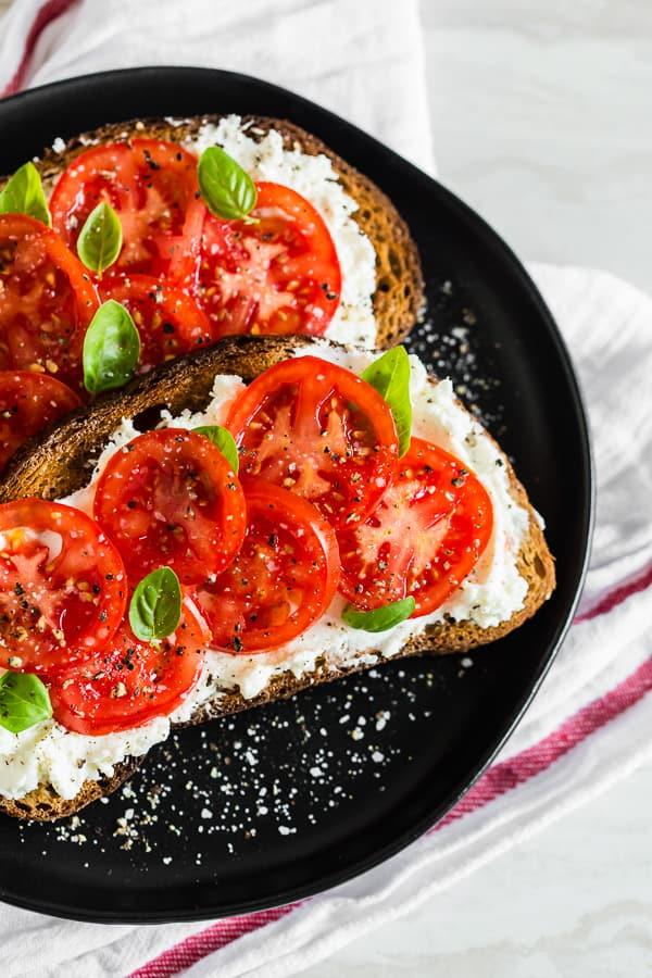 wholesale dealer 8c92b 7200d Ricotta Tomato Toast