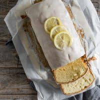 Lemon Vanilla Pound Cake