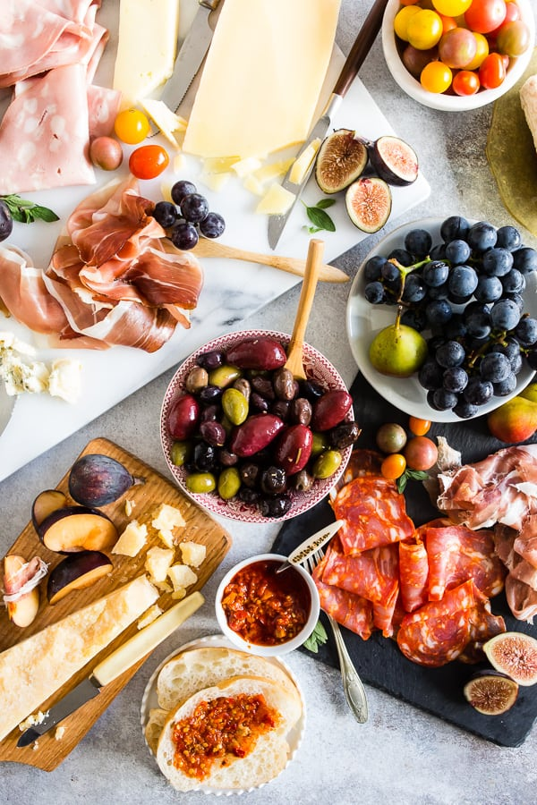 44a47dd501da9 This is the Ultimate Italian Antipasto Platter! Full of imported Italian  meats and cheeses paired